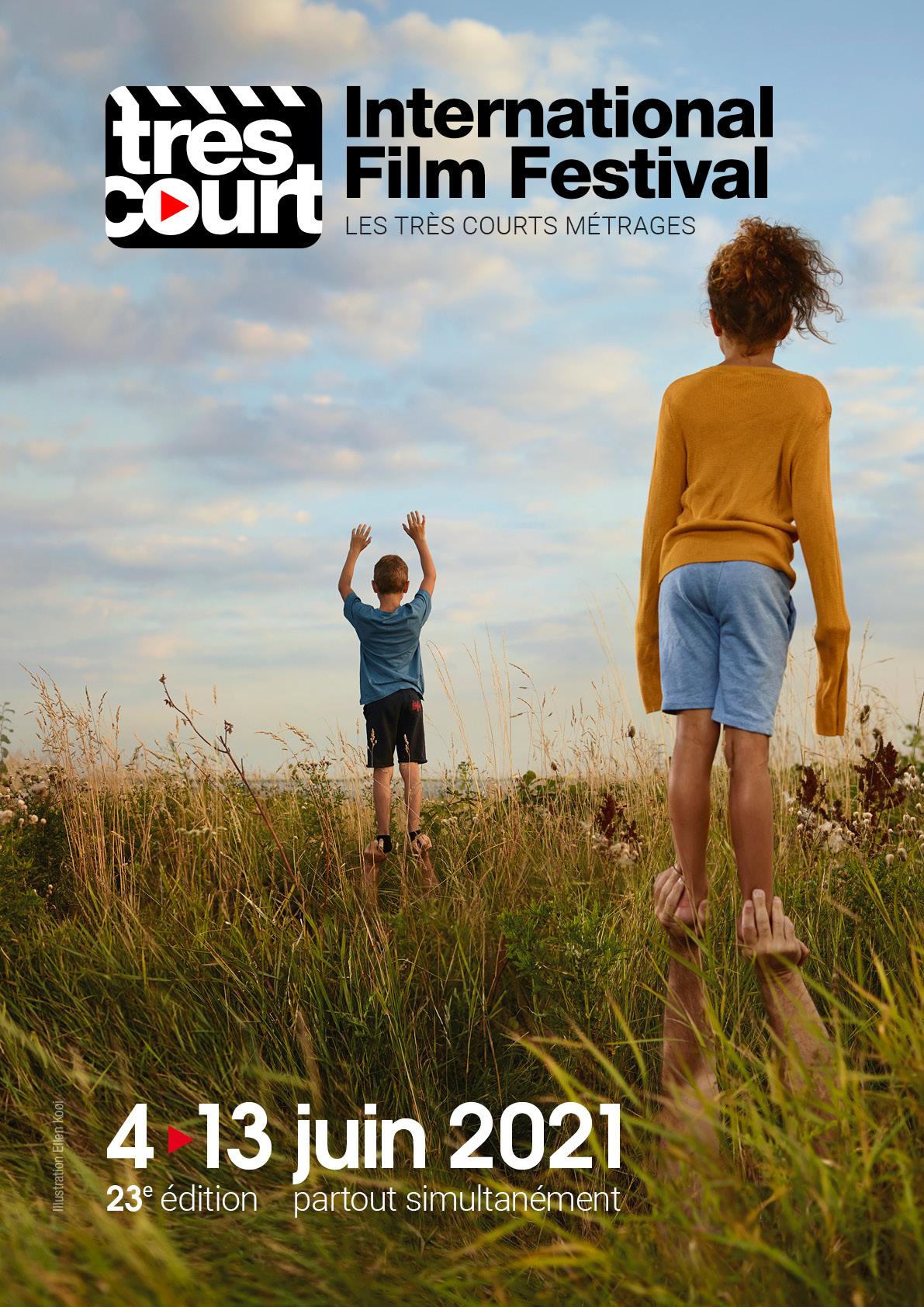 Affiche du très court international film festival