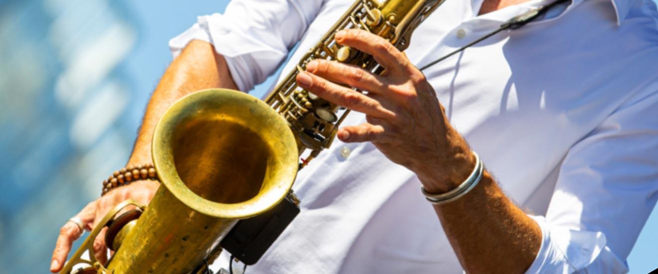 saxophone, photo par Olivier Ravoire - Département des Hauts-de-Sein